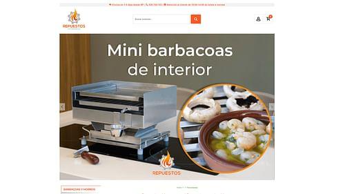 Website&Marketing para Repuestos Chimeneas - Redes Sociales