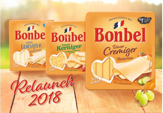 Bonbel - Relaunch der Range und Onlinespot