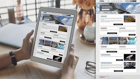 Saflex and Vanceva - Digital marketing eco-system