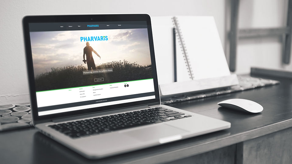 Website voor early stage kanker research startup