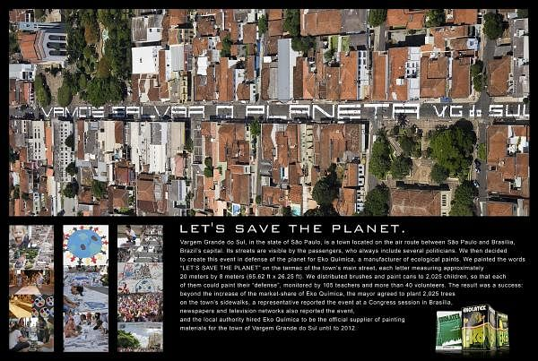 LET'S SAVE THE PLANET