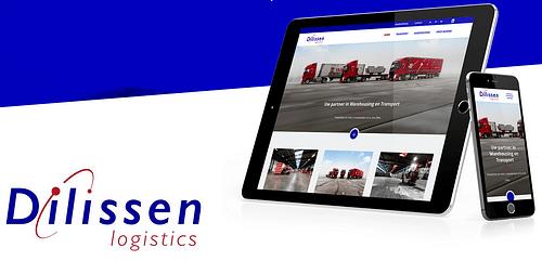 Dilissen Logistics - Website Creatie