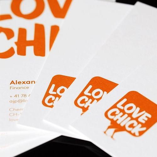 Love Chick - Design & graphisme