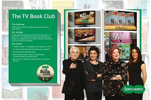 THE TV BOOK CLUB - Advertising