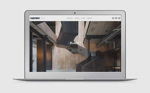 NomenArq   Web corporativa