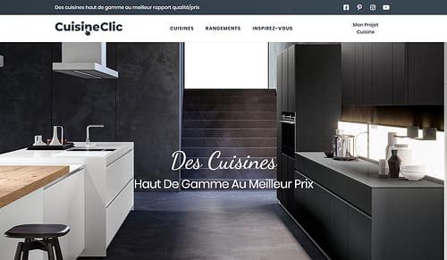 Cuisine Clic - Création de site internet