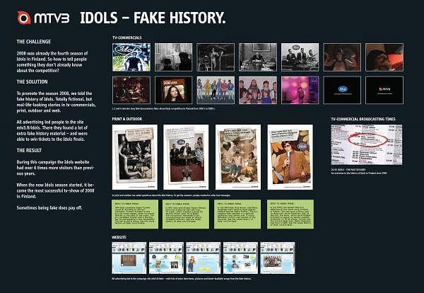 IDOLS - THE FAKE HISTORY