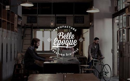 Belle Epoque - Création de site internet