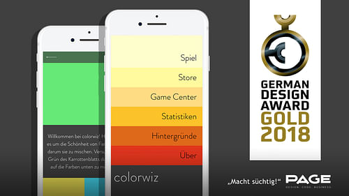 colorwiz - The color mixing game! - Mobile App