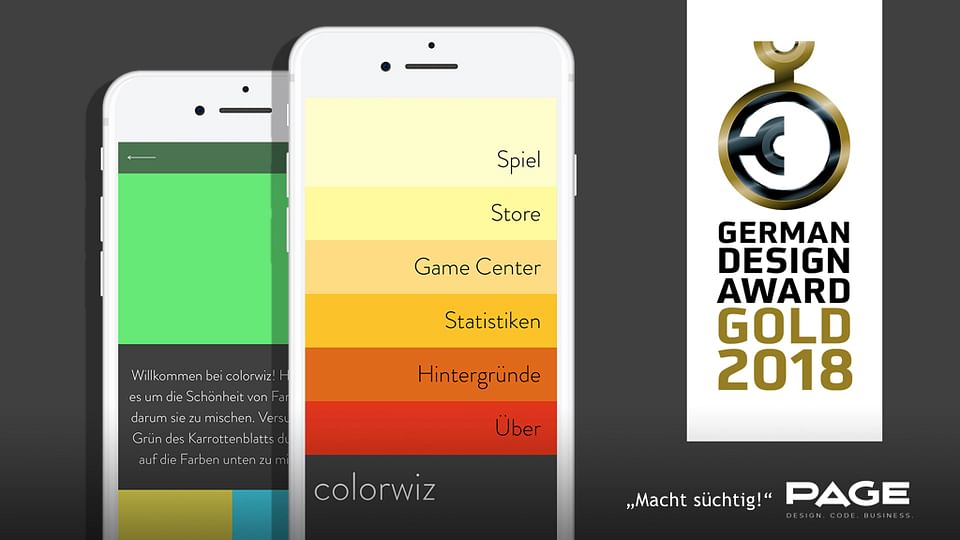 colorwiz - The color mixing game!