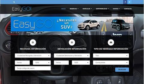 Sistema Reservas de vehículos. Ascauto EasyGo Rent