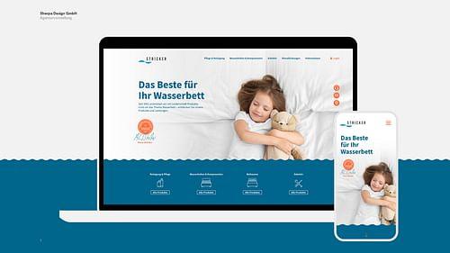 Stricker – Rebranding eines Familienunternehmens - Webseitengestaltung