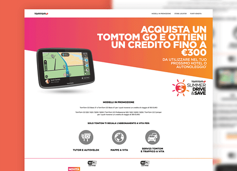 TomTom - Italy - B2B and Consumer Promotions