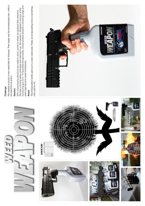 WEED WEAPON - Advertising