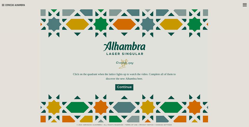 Alhambra - Desarrollo web a medida