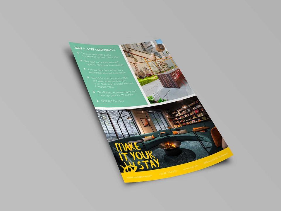 A-Stay: Digital Print & Design flyers