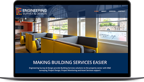 Brand and Website Design for Engineering Company - Website Creation