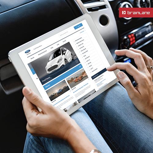 Ford Press Belux - Web Applicatie