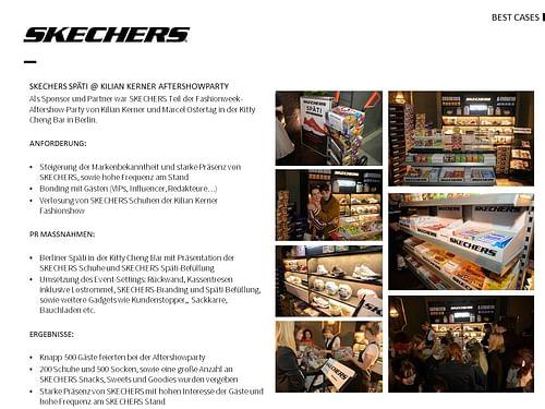 Skecher Fashion Week After Party Berlin - Öffentlichkeitsarbeit (PR)