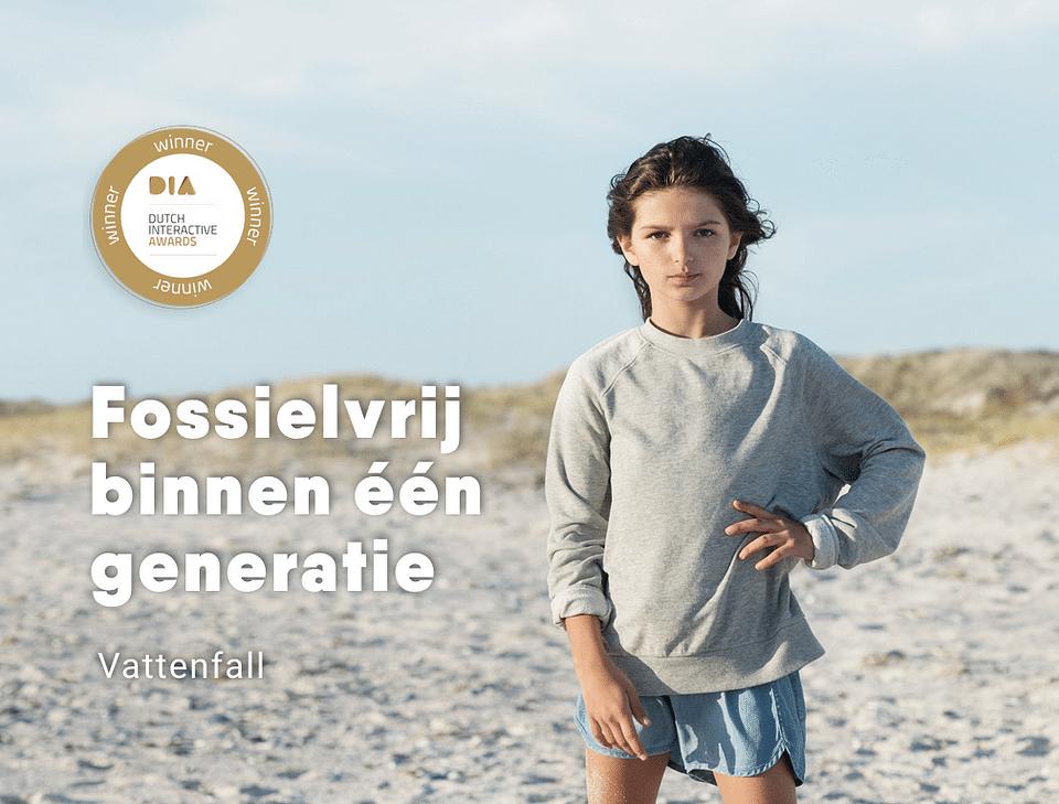 Vattenfall - Online rebranding