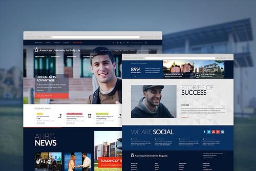 AUBG Website - Web Application