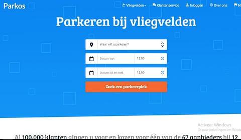 Digital strategy for Parkos, award winning scaleup