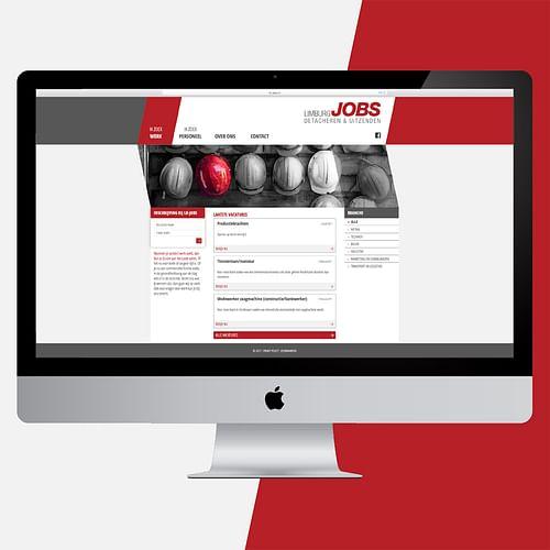 Website Limburg Jobs (responsive) - Ontwerp