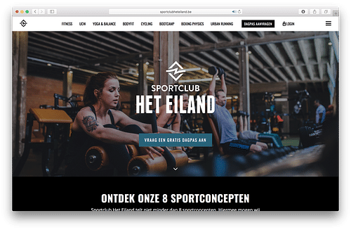 Building the brand for the biggest gym in Antwerp - Branding & Positionering