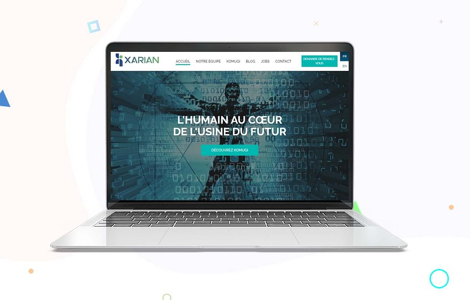 Refonte de site - Xarian