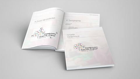 Charte graphique - Ensemble Scolaire Sacré-Cœur