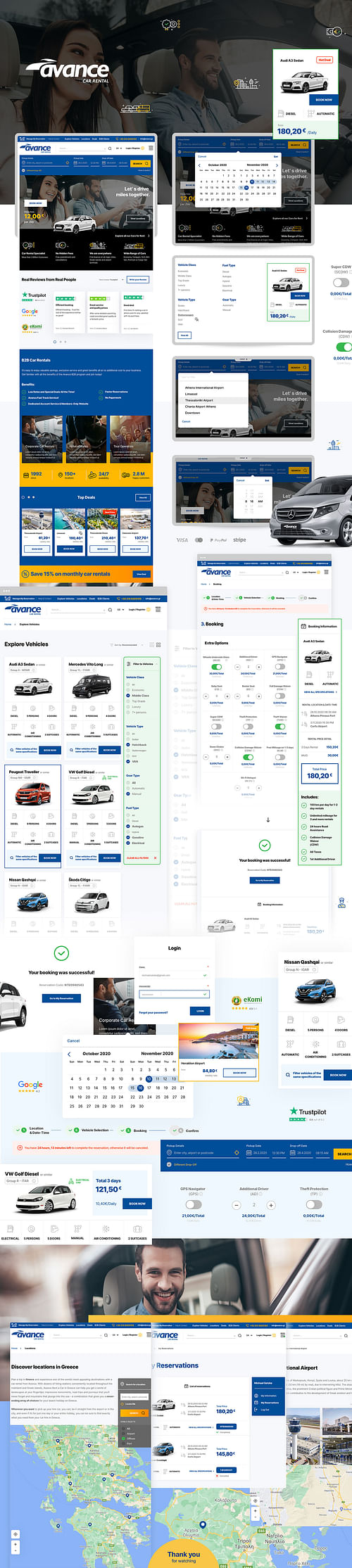 Avance Car Rental - Digital Strategy