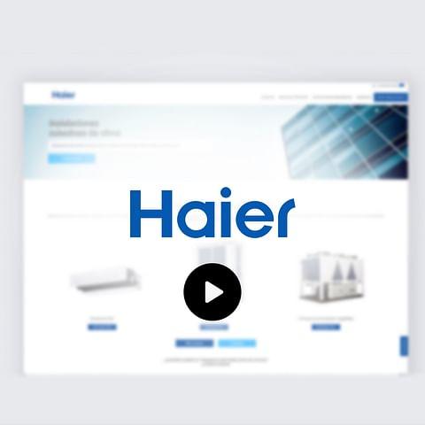 Haier Spain Online trainings & workshops