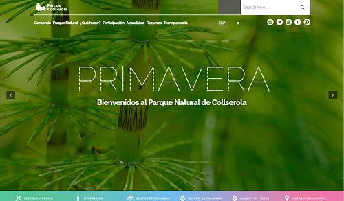 Parc Natural de Collserola - Diputación Barcelona - Creación de Sitios Web