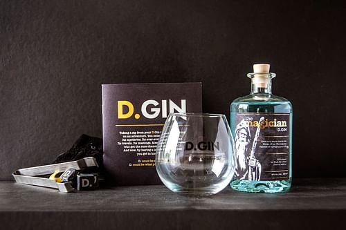 D.GIN: karaktervolle branding voor unieke Gin - Ontwerp