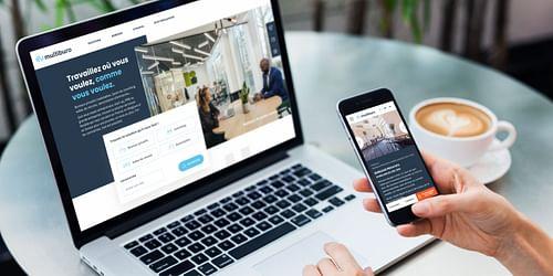 Refonte du site multilingue Multiburo - Application mobile