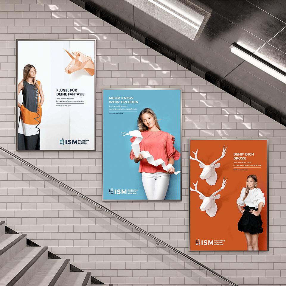 ISM Innovative Schulen München Kampagne