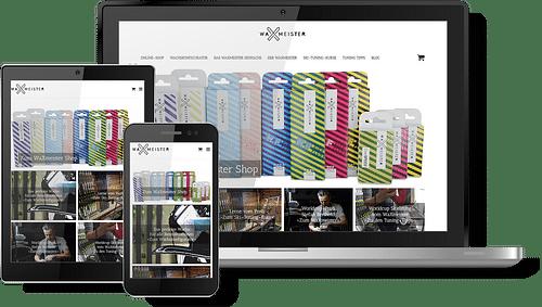 Das Skiwachs für Profis: Mit eigenem Webshop un... - Markenbildung & Positionierung