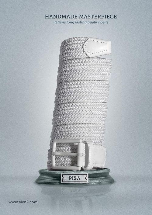 Handmade Masterpiece, Pisa - Publicidad