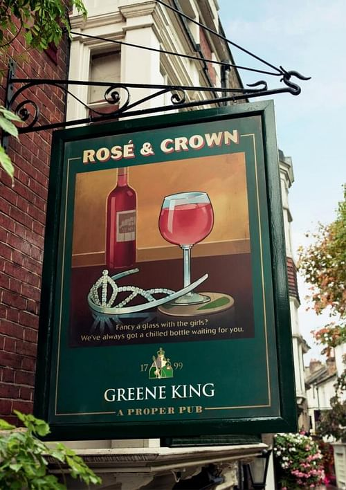 THE ROSE & CROWN - Advertising