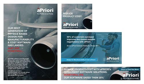 aPriori Cost Management Software Campaign - Public Relations (PR)