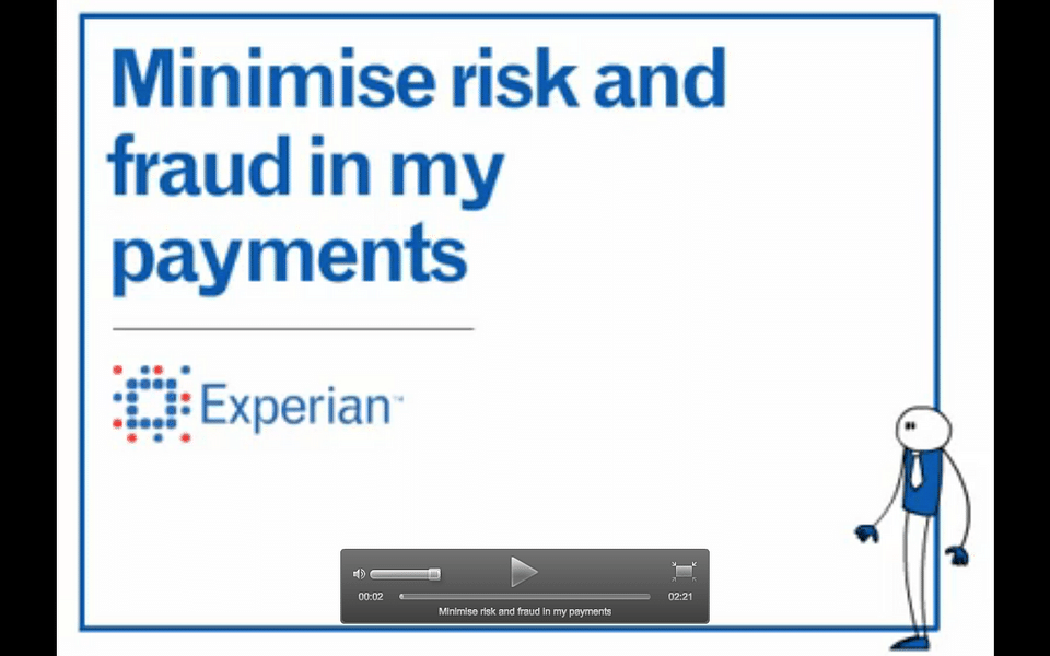 Minimise risk and fraud