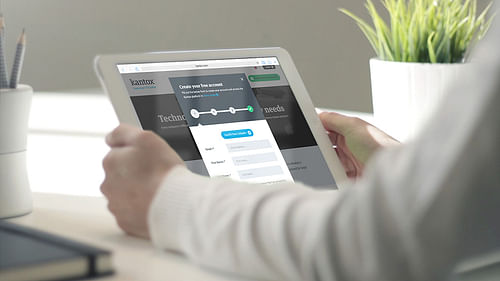 Kantox - Website Creation