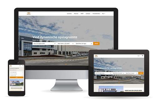 Agency Calibrate for Warehouse De Pauw - Website Creatie