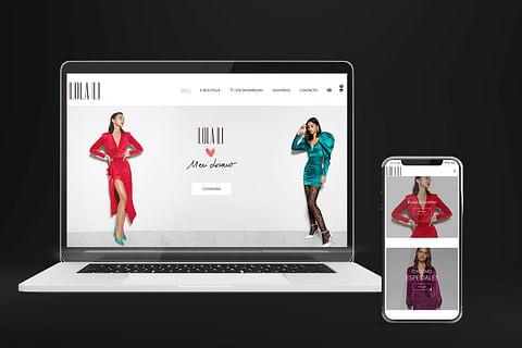 Website e-commerce - Lola Li