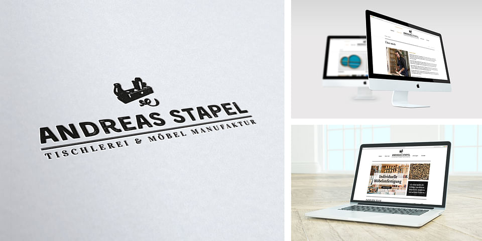 Andreas Stapel - Website & Logogestaltung