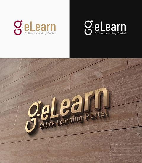 Logo Design for Go e-Learn