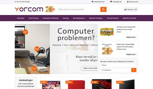 Yorcom - Website Creatie
