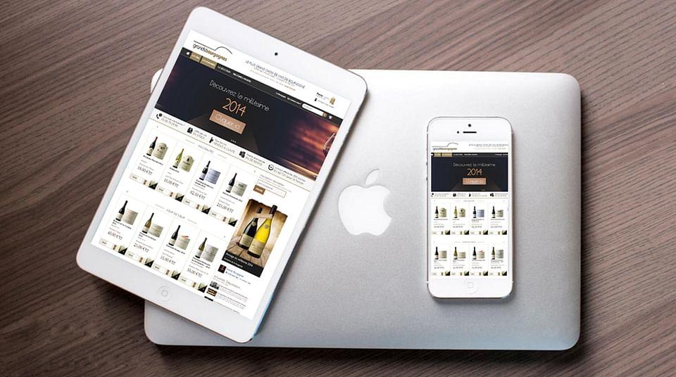 Site ecommerce & webmarketing - Grands Bourgognes