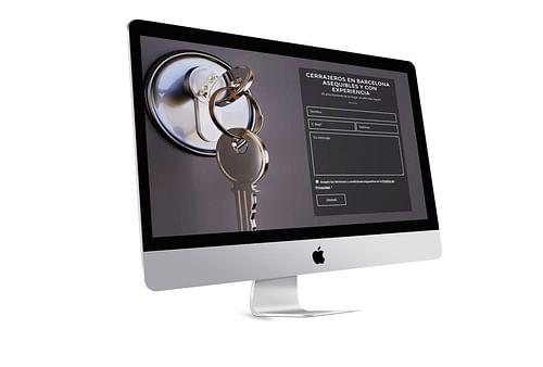 Diseño Web Cerrajería TDA - SEO