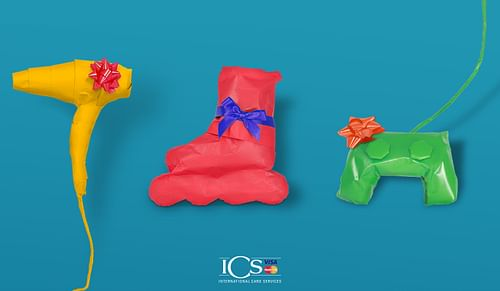 ICS: Eindejaars actie Shop & Win - Branding & Positionering